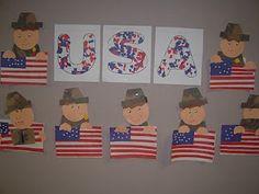 Art Veterans Day project school-stuff