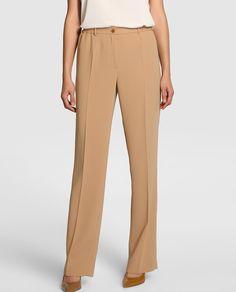Pantalón de vestir en color camel