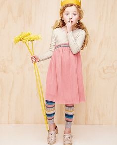 Dream Dress & footless tights love the whole outfit by Hanna Andersson