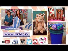 Programa 10 ArteZ TV 25-05-17 #Chalk Paint #Cartonaje #Porcelana fria - YouTube