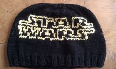 Free knitting pattern for Star Wars hat and more star wars knitting patterns