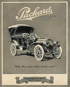 1908 Packard ★。☆。JpM ENTERTAINMENT ☆。★。