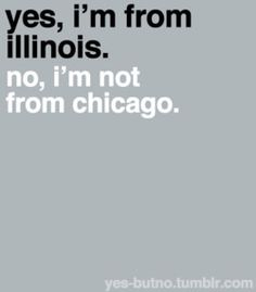 LOVE this!  People, people - Rockford is not Chicago, I promise :)
