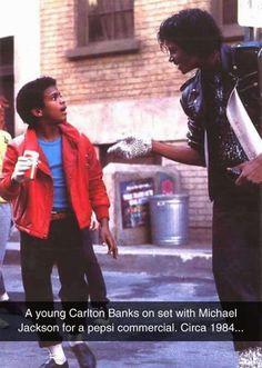 Alfonso Ribeiro meets MJ