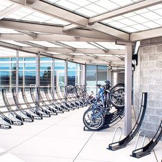 Interior Bike Racks