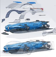 04-Alpine-Vision-Gran-Turismo-Concept-Assembly-Design-Sketches-by-Laurent-Negroni-01.jpg (1196×1219)