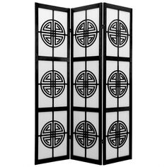 6 ft. Tall Long Life Shoji Screen (190 AUD) ❤ liked on Polyvore featuring home, home decor, panel screens, shoji room dividers and shoji screen