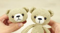 Embroidering teddy nose (right-handed) | Kristi Tullus