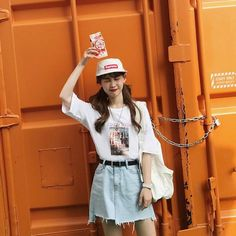 Korean Fashion #Outfit #Summer Look #thedejou___jp