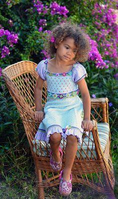 Ravelry: Sommerdesign pattern by Sidsel J. Knitting For Kids, Crochet For Kids, Baby Knitting, Knitted Baby, Summer Design, Ravelry, Pattern Design, Kids Outfits, Flower Girl Dresses
