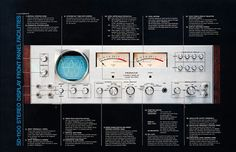 Amazing blog with high quality photographs of vintage audio equipment.