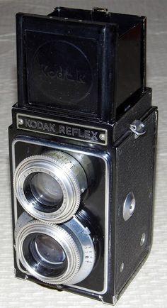 Vintage Kodak Reflex TLR Camera, Originally Priced At 100 USD, Circa 1946 - 1949