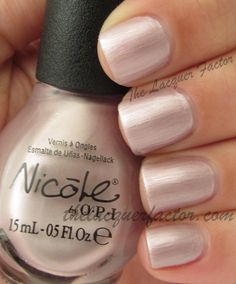 @Nicole by OPI A Pinker Shade Of Pale