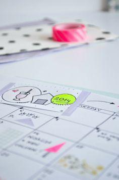 DIY handmade planner for bloggers!