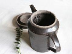 Tall Black Teapot by Naotsugu Yoshida at OEN Shop
