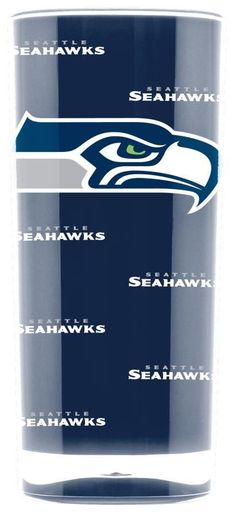 TWO 16oz SEATTLE SEAHAWKS, INSULATED, SQUARE TUMBLERS FROM DUCKHOUSE SPORTS #SeattleSeahawks
