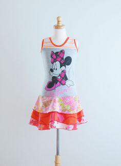 Last one. Upcycled t-shirt dress.