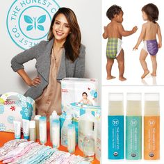 Jessica Alba introduces new products for The Honest Company