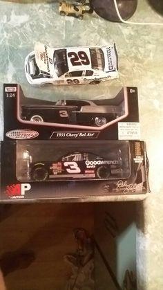 earnhardt race car retails for 100.00... #3 57 chev.... #29 race car...