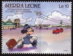 Walt Disney characters in Sierra Leone