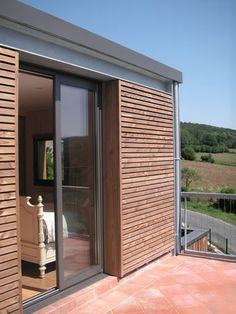 architectes-paris.com - Construction maison acier et mélèze - Mansat-la-Courrière (23) - Mansat-la-Courrière