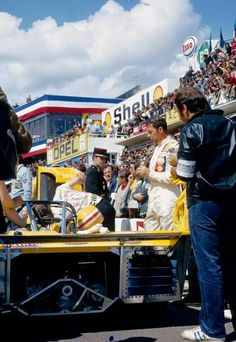 Jo Bonnier Lola T280 Le Mans 1972