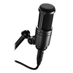 Audio Technica Studio Condenser Microphone Mic We'll Beat any Price! in Musical Instruments & Gear, Pro Audio Equipment, Microphones & Wireless Systems Best Studio Microphone, Usb Microphone, Phantom Power, Dynamic Range, Ex Machina, Home Studio, Recording Studio, Home