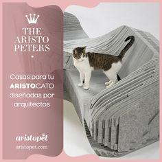 El grupo 'Arquitecto para Animales' llamó a varios arquitectos para que diseñaran casas para ARISTOGATOS y subastarlas. El objetivo fue recaudar fondos para los gatos de la calle de Los Angeles ¿Quieres saber más? entra en ARISTOPET.COM/THE-ARISTOPETERS