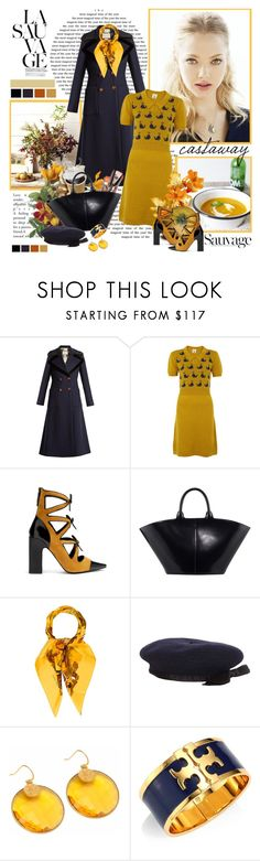 """""""El viento del otoño......"""" by purplecherryblossom ❤ liked on Polyvore featuring Gucci, Fabrizio Viti, The Row, Hermès, Chanel, Carousel Jewels, Tory Burch, Anja and vintage"""