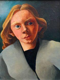 Portret van Annetje Fernhout (1925) van Charley Toorop.