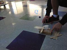 Build a catapult that works! STEM Challenge! #STEM #Engineering #teacherspayteachers