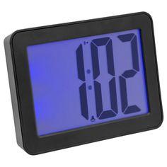 Sonnet iWake 2.5-inch LCD Digital Alarm Clock with Blue Back-light