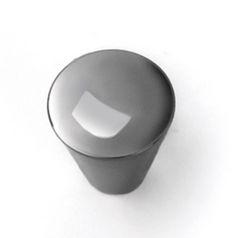 Superbe Laurey Cabinet Knobs, 3/4 Inches Small Cone Knob Black Nickel