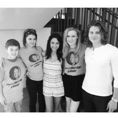 Cute photo from Lexi's Instagram!   The Fosters