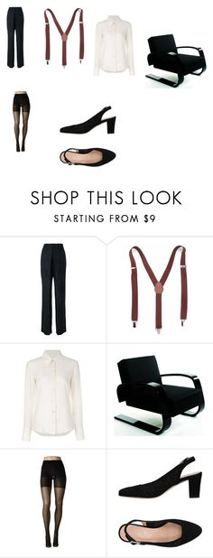 """""""Kim Basinger's Fifty Shades Darker photoshoot outfit"""" by terrence-michael-clay on Polyvore featuring Aalto, Chloé, Artek, SPANX and CUOIERIA"""
