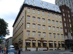 Hotel Clarendon, Quebec City, Canada