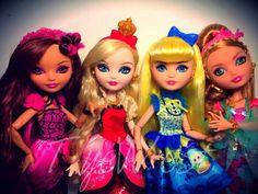 Fairytale royalty , Princesses: Briar, Apple, blondie, and ashlynn