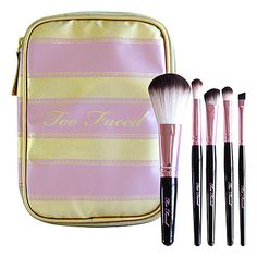 Amazing makeup brushes by Too Faced that don't use animal hair!