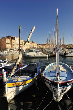 Les pointus de Saint-Tropez -provence cote d'azur