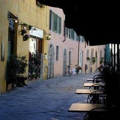 L'Antico Sigillo, Lucca, Italy. One of the nicest restaurants in Lucca. <3 It is crowded all too often, book a table! Terrace recommended. :)))
