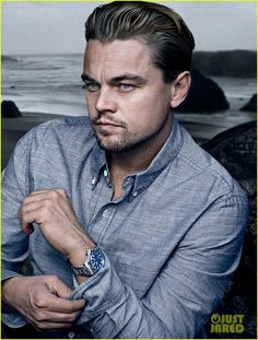 "Leonardo DiCaprio in the ""August Man"", Feb 2013 Amor Leo, Leo Love, Hollywood Actor, Best Actor, Brad Pitt, Gorgeous Men, Role Models, Movie Stars, Actors & Actresses"