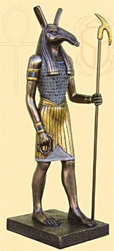 Seth was the god of chaos. Seth represented everything that threatened harmony in Egypt. He murdered his brother Osiris, then battled with his nephew Horus to be the ruler of the living. At certain times in the history of ancient Egypt, Seth was associated with royalty.