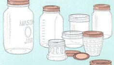 DIY Mason Jar Crafts & Food Preservation Ideas & Tutorials