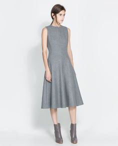 ZARA - WOMAN - WOOL DRESS