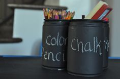 chalk Illy cans