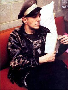 Joe Strummer, of The Clash, reads.