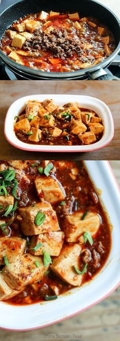 Real Sichuan style Mapo tofu