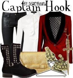 Captain Hook - disneybound