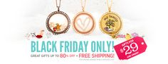 Crazy good deals on Origami Owl jewelry until midnight!! Check them out at my website. #blackfriday #origamiowl bethanylingerfelt.origamiowl.com