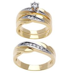 wedding ring set outlet